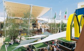 expo 2015 - padiglione mc donald's - estensivo tappezzante a sedum