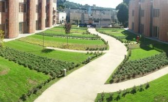 sede CNR - intensivo a giardino pensile e drenaggio continuo