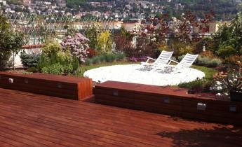 terrazza privata - estensivo composito