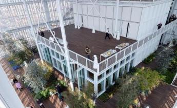grattacielo intesa sanpaolo, serra bioclimatica - intensivo ed estensivo