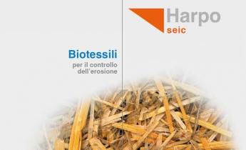Brochure Biotessili | Harpo seic | Geotecnica
