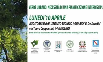 Convegno: Verde Urbano | Avellino 10 aprile