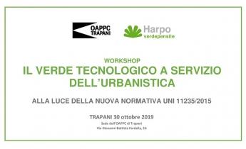 WORKSHOP  Verde Pensile  -  Trapani 30 ottobre 2019