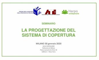 Seminario Verde Pensile  -  Milano 30 gennaio 2020
