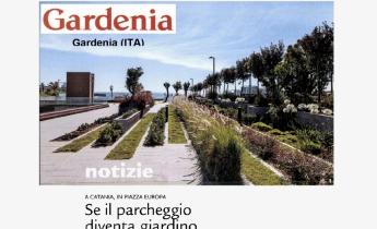 Piazza Europa, Catania: se il parcheggio diventa giardino | Gardenia
