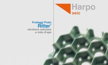 ProGrass Proteggi Prato Ritter struttura cellulare- Harpo Seic Geotecnica