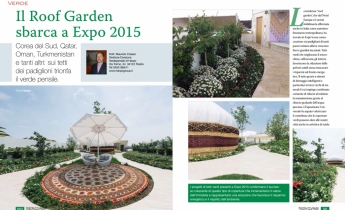Il Roof Garden sbarca a Expo 2015