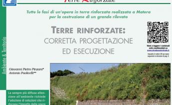 Terre rinforzate: corretta progettazione ed esecuzione