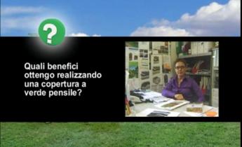 I benefici ottenibili con la copertura a verde pensile