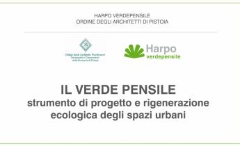 verde pensile_seminario architetti pistoia 2018