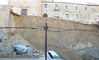 Harpo seic - Geotecnica - Concrete Canvas - Crollo Piazza Armerina - 2015