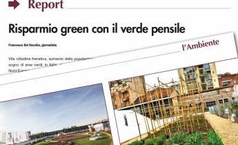 L'AMBIENTE | Risparmio green con il verde pensile