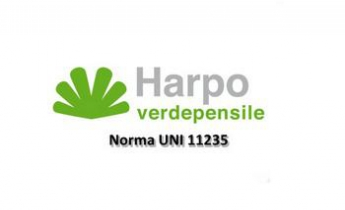 Harpo verdepensile - Norma UNI