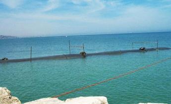 Relaizzazione brema soffolta a protezione di un tratto costiero