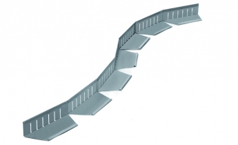 Verdepensile - profilo paraghiaia curve - Harpo Group